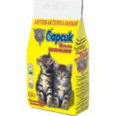 Барсик антибактериальный гигиенический наполнитель для котят, 4,54 л
