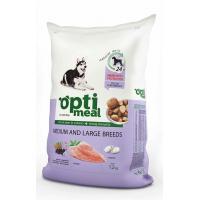 Optimeal полнорационный сухой корм для взрослых собак средних и крупных пород с курицей и рисом (на развес)