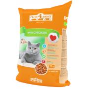 Club 4 paws сухой корм для взрослых кошек с курицей (целый мешок 11 кг)