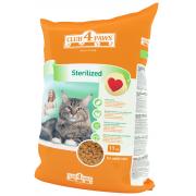 Club 4 paws сухой корм для кастрированных котов и стерилизованных кошек (целый мешок 11 кг)