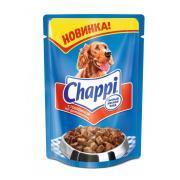 Chappi для взрослых собак всех пород с говядиной по-домашнему, 100 г