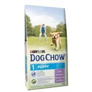 Dog Chow корм для щенков всех пород до 1 года с ягненком (целый мешок 14 кг)