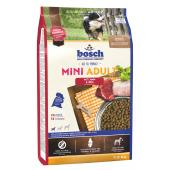 Bosch Mini Adult сухой корм для взрослых собак маленьких пород с ягненком и рисом (целый мешок 3 кг)