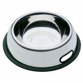 Ferplast NOVA KC 78 миска из нержавеющей стали для кошек и собак с антискользящим покрытием, 1,5 л