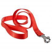 Ferplast Club G25/120 нейлоновый поводок для собак, 120 см, 25 мм, красный