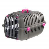 Ferplast  JET 20 пластиковая переноска для кошек и собак мелких пород, 57 x 37 x 33 см