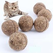 Мятные шарики для кошек