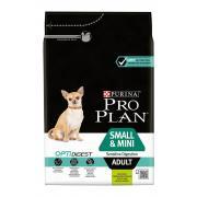 Pro Plan Small&Mini Adult для взрослых собак мелких и карликовых пород с чувствительным пищеварением с ягненком и рисом (целый мешок 7 кг)