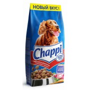 Chappi с говядиной по домашнему с овощами и травами (целый мешок 15 кг)