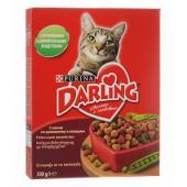 Darling корм сухой для взрослых кошек с мясом по-домашнему и овощами