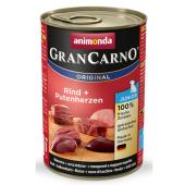 Gran Carno Junior для щенков с говядиной и сердцем индейки 800 гр