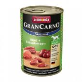 Gran Carno Adult для взрослых собак с говядиной и сердцем утки 800 гр