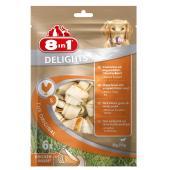 Жевательные кости с куриным мясом внутри для собак от 2 до 27 кг, 1 шт.