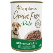 Applaws Grain Free беззерновой паштет с ягненком и овощами, 400 г