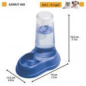 Ferplast Azimut 600 диспенсер для воды и корма, 0,6 л