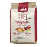 Bosch Soft Adult Maxi сухой беззерновой гипоаллергенный полнорационный корм с мясом дикого кабана и сладким картофелем для взрослых собак