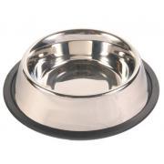 Trixie миска стальная на резинке для собак, 0,9 л