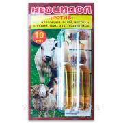 Неоцидол противопаразитарный препарат для борьбы с блохами, вшами, власоедами, иксодовыми и чесоточные клещами, 10 мл