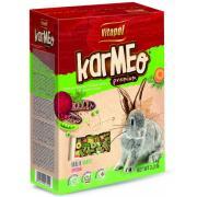 Полнорационный фруктовый корм для хомяка и кролика, 350 г