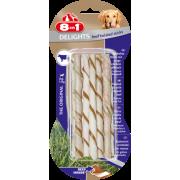 Скрученные палочки с говядиной для собак весом от 2 до 12 кг, 10 шт.