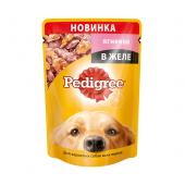 Pedigree для взрослых собак всех пород с ягненком в желе, 100 г