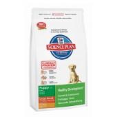Hill's Science Plan Puppy Healthy Development Large Breed для щенков крупных пород до 1 года с курицей 2015M (целый мешок 16 кг)