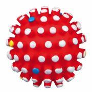 Trixie мяч игольчатый с пищалкой, 12 см