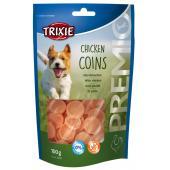 Trixie Chicken Coins лакомство-чипсы для собак с курицей