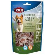 """Trixie """"Fish Chicken Rolls"""" лакомство-рулетики для собак с рыбой и курицей"""