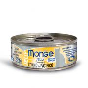 Monge Tuna in jelly желтоперый тунец в желе, для кошек, супер премиум качества 80 гр