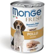 Monge Fresh Adult Loaf with Chicken паштет с курицей для взрослых собак, супер премиум качества 400 гр