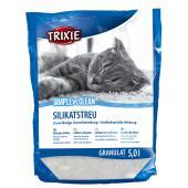 Trixie Simple'n'Clean силикагелевый наполнитель для кошек, 5,0 л