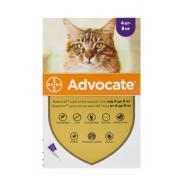 Advocate для котов массой от 4 до 8 кг эндоэктоцид спот-он применения 1 пипетка 0,8 мл