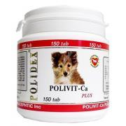 """Polidex """"Поливит-Кальций плюс"""" комплекс витаминов для щенков, 150 таб."""