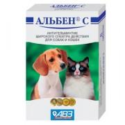 Альбен С антигельминтик широкого спектра действия для собак и кошек