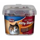 "Trixie ""Soft Snack Kitty Stars"" мягкие звездочки для кошек с лососем и ягненком"