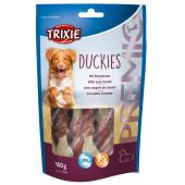 Trixie Duckies лакомство для собак с уткой и кальцием, 100 г