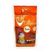 Van Cat комкующийся наполнитель с ароматом апельсина, 5 кг