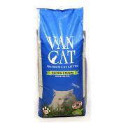 Van Cat натуральный комкующийся наполнитель, 20 кг