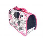 Сумка-переноска для кошек и мелких собак 40×21×25 см
