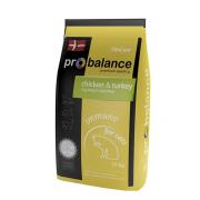 Pro Balance İmmuno сухой корм для взрослых кошек с курицей и индейкой (целый мешок 10 кг)