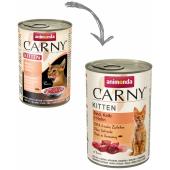 Carny Kitten консервы с телятиной и курицей для котят, 400 г