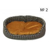 Лежанка матрешка с начесом для кошек и собак мелких пород L (большая) 56×42 см