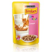 Friskies для котят c курицей в подливе
