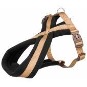 Trixie Premium Touring шлейка для собак карликовых и мелких пород, размер XS, 26–36 см/10 мм, коричневый