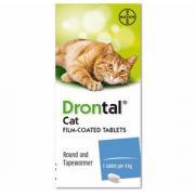 Дронтал антигельминтик для кошек 1 табл.