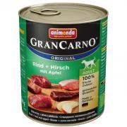 Gran Carno Adult с говядиной, олениной и яблоком, 800 г