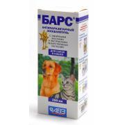 Барс антипаразитарный зоошампунь для собак и кошек, 250 мл
