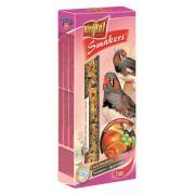 Smakers (колосок) с фруктами для зебровой амадины и экзотических птиц 2 шт.