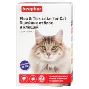 Beaphar Flea & Tick ошейник от блох и клещей для кошек, фиолетовый, 35 см, 1 шт